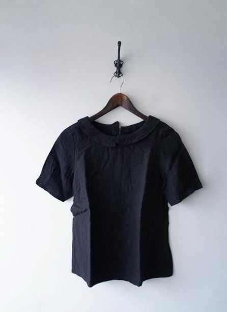 YAMMA襟付きリネンシャツ