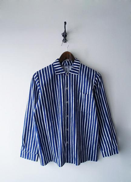marimekkoストライプシャツ