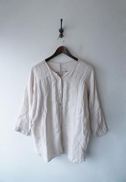 YAMMAリネンワイドシャツ