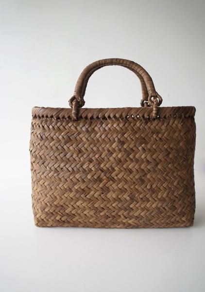 伝統工芸品イタヤ工房 ほら編みトートバッグ
