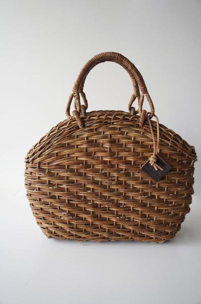 伝統工芸品松野屋 ほら編みかごバッグ