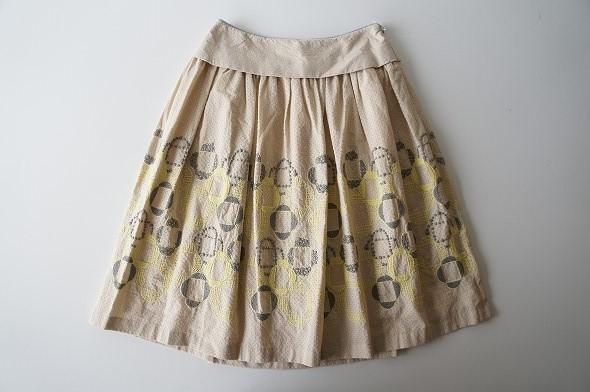 veronica ギャザースカート