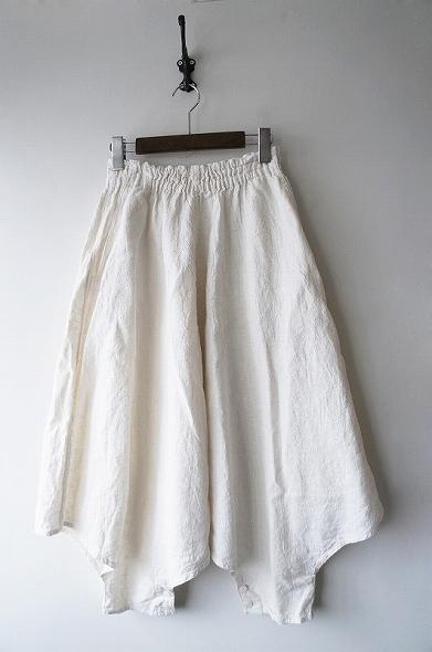 天然繊維平織りムササビパンツ