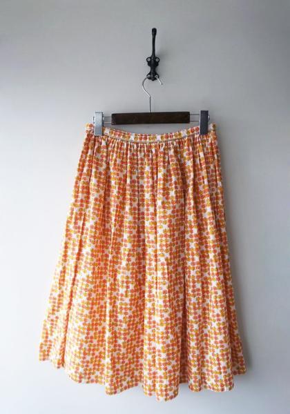 リトルフラワースカート