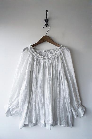 [ふたたび]ロングスモックシャツ