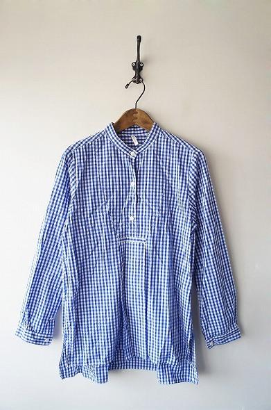 JOURNAL STANDARDギンガムチェックバンドカラーシャツ