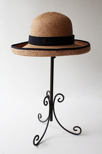 パイピング麦わら帽