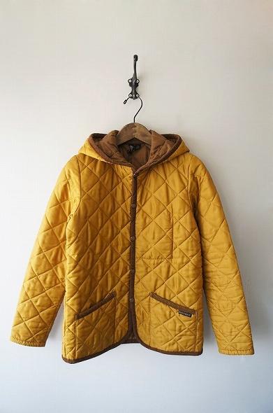 CRAYDON フード付きキルティングジャケット