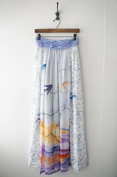 スカイフリルベアトップドレス