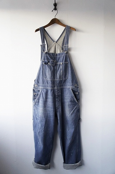 FADE BLUE DENIM OVERALL