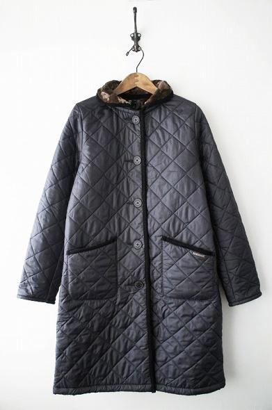 ホーリー ファーライニングキルティングコート