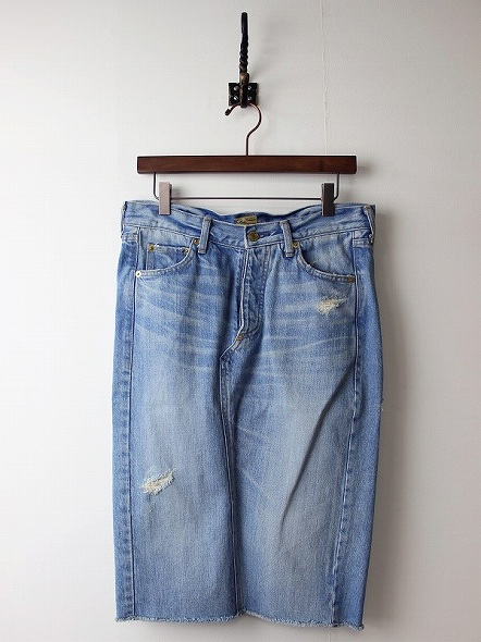 DEUXIEME CLASSEデニムタイトスカート