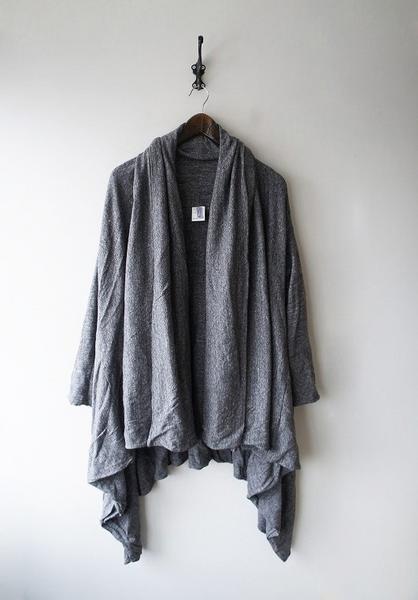 ダブルコットン羽織りコート