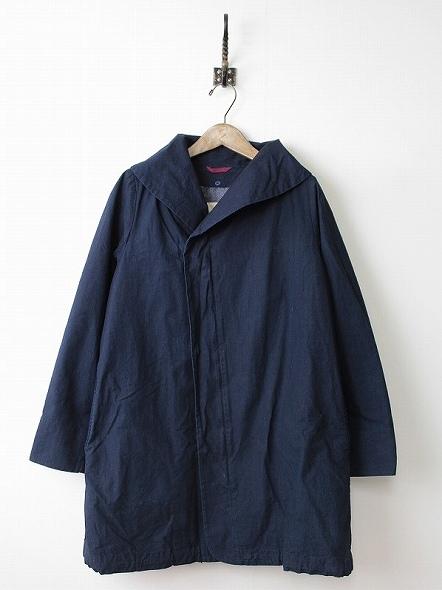 ライナー付き ショールカラー コート