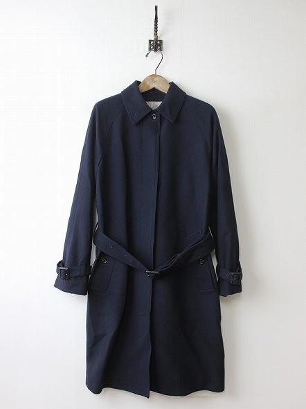 ステンカラーウール コート