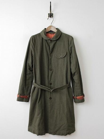 ラウンドカラー コート