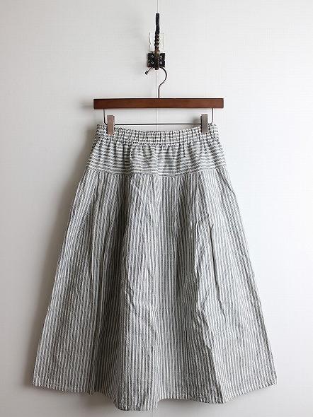 松阪木綿 タック スカート