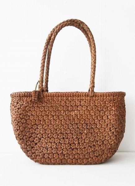 花編み かごバッグ