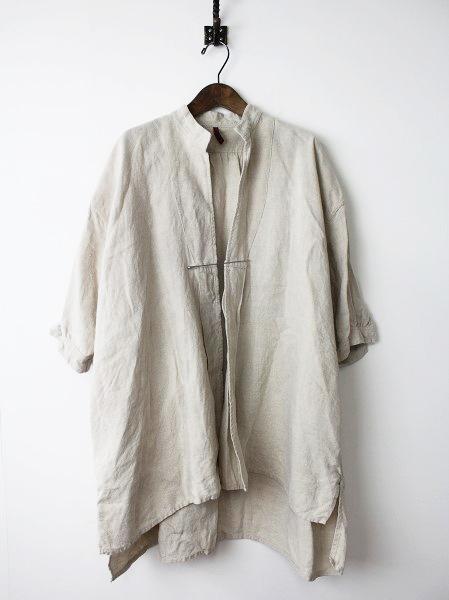 ピン付き リネン 羽織りジャケット