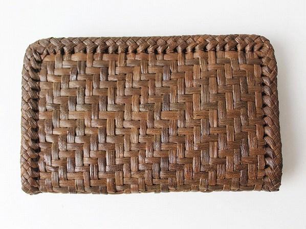 網代編み 財布