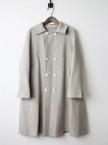 ウール ロングコート