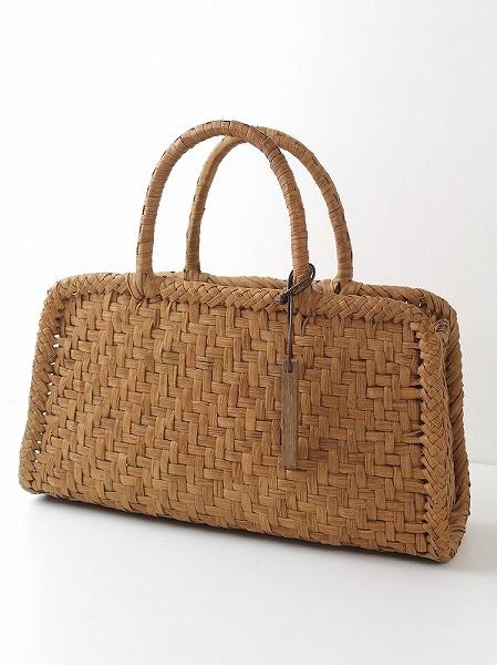山葡萄 網代編み かご バッグ