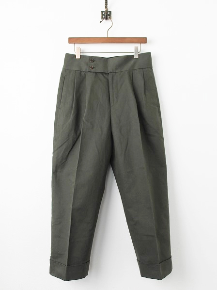 578-7243001 BRUSHED COTTON LINEN PANTS