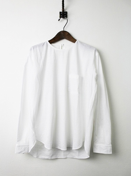 ゴーシュG164-B037 ペーパー天竺プルオーバーシャツ