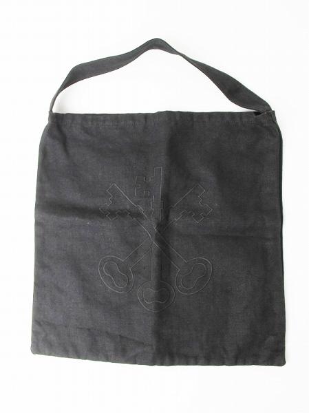 鍵刺繍 リネントートバッグ