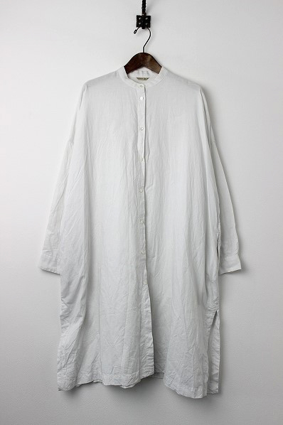053-L666-158 フロントオープン ロングシャツ