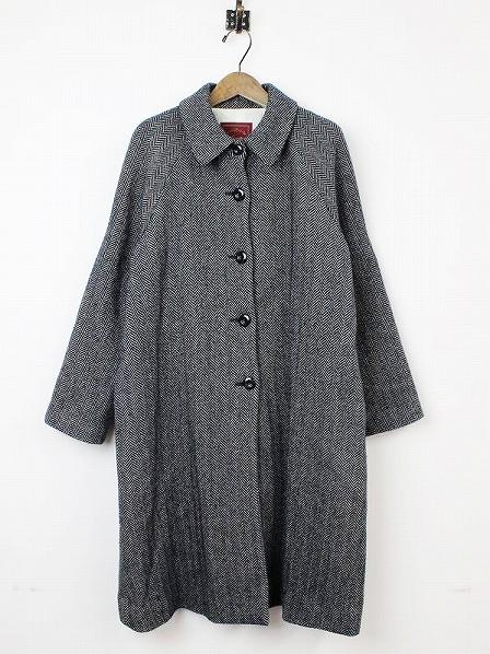 ヘリンボーン コート