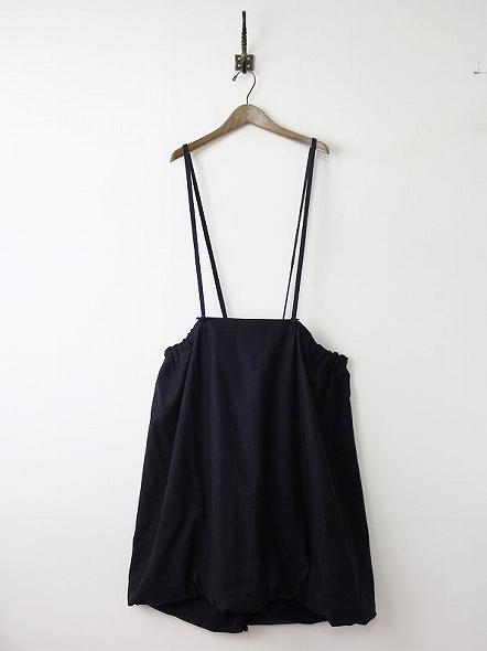 ウールサスペンダーバルーンスカート
