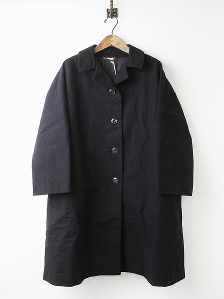 073-L196-012 Backtuck granny coat