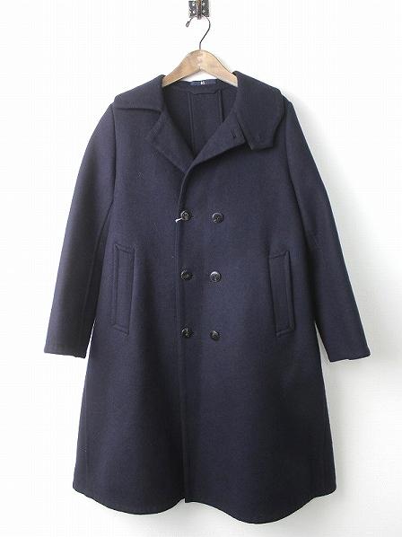 メリノ 二重織りコート