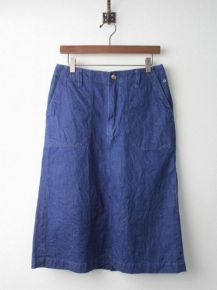 ブルーデニム スカート