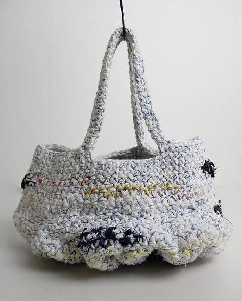 クロシェ編み編みハンドバッグ