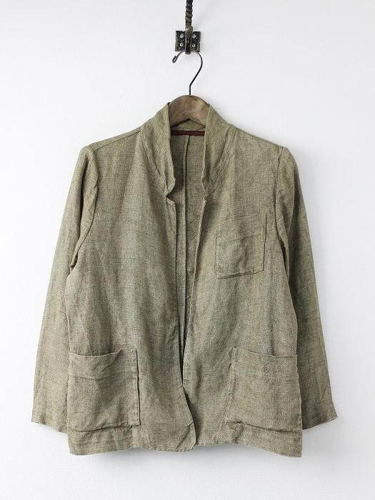 16010450000010 リネン羽織り ジャケット