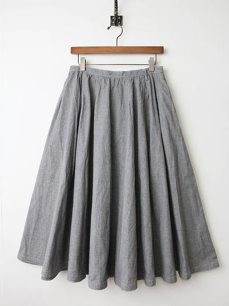 より杢 フレアスカート