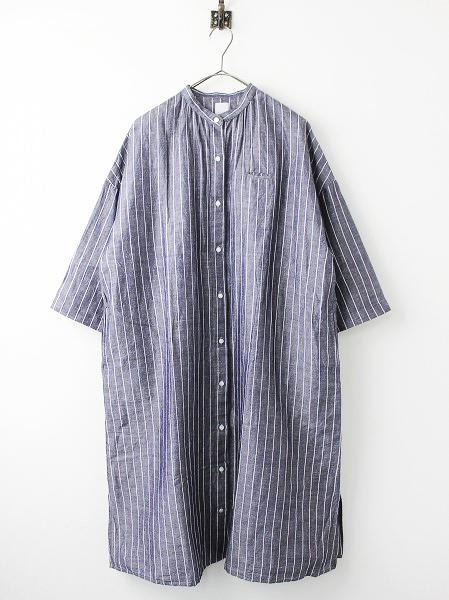 休日と詩portom1830 アコースティック ロング シャツ