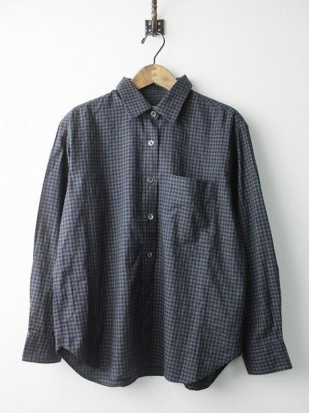 578-7253009 ギンガム オックスフォード コットンシャツ