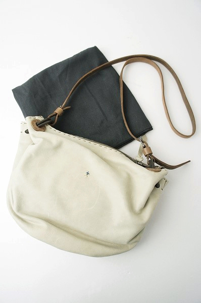 MARGOT XS オミノ刺繍 レザー ショルダーバッグ