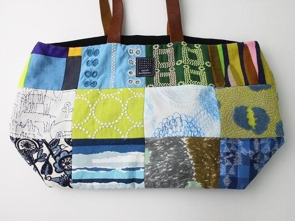 piece bag ピースバッグ ベージュミックス