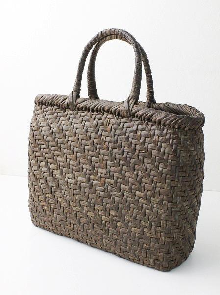 網代編み 手提げ かご バッグ