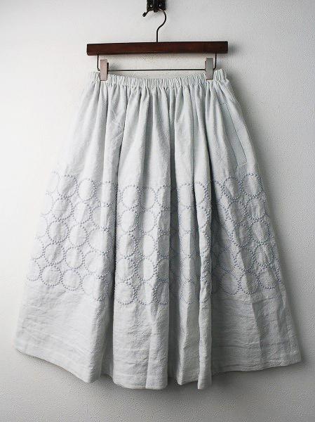 tambourine 刺繍 スカート