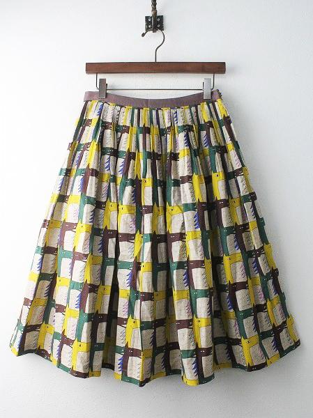 throughbred プリーツ スカート