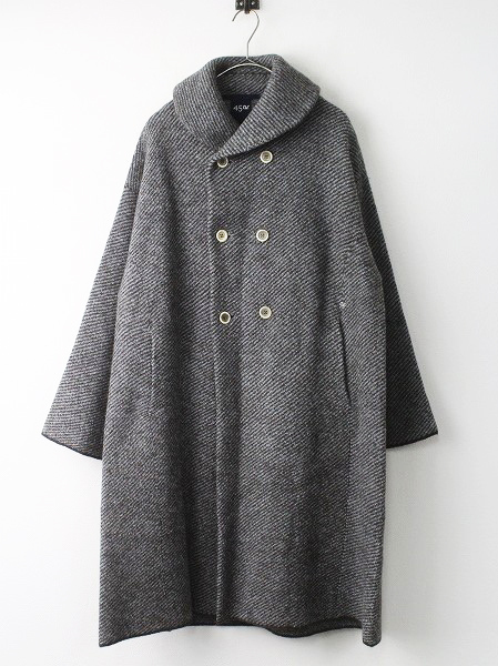 ツイル KNIT PEA COAT