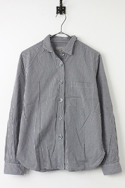 LAYERED GINGHAM ギンガムチェック シャツ