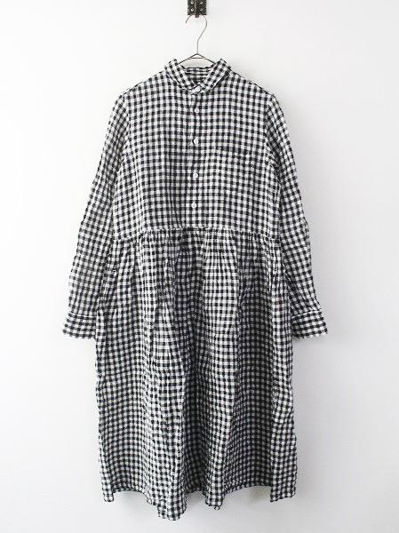 デンズリー ギンガムチェック シャツ ドレス