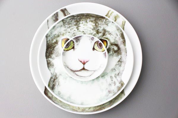 MELANTRICK HEMLIGHETヒグチユウコ 三匹で猫皿