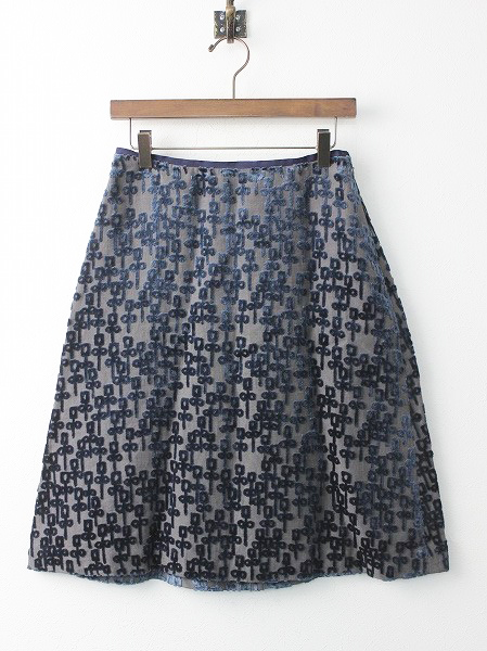 chorus パイルジャガード 台形スカート